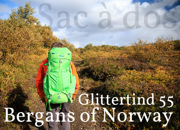 Actualité : Test du sac à dos Bergans Of Norway Glittertind 55