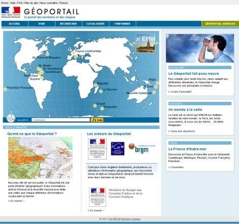 Site du Geoportail