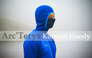 Actualité : Test du sweat Arc'Teryx Konseal Hoody 3/4 Zip