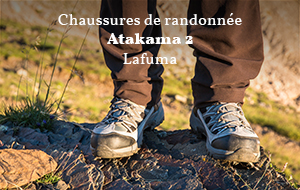 Actualité : Test des chaussures Lafuma Atakama 2