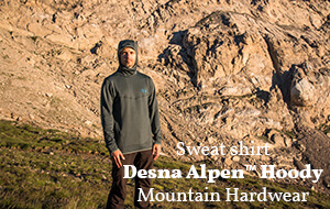 Actualité : Sweat Mountain Hardwear Desna Alpen