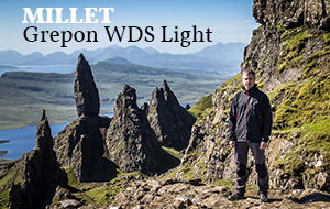 Actualité : Test de la veste softshell Millet Grepon WDS Light