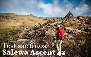 Actualité : Test du sac à dos Salewa Ascent 42