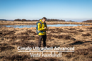 Actualité : Test de la veste Cimalp Ultrashell Advanced