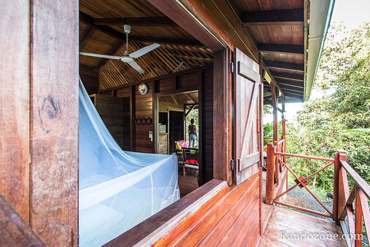 Ecolodges bungalows Arsenault en Guadeloupe