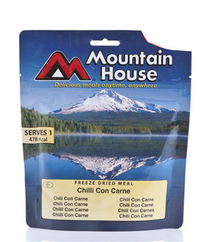 Test Mountain House Chili Con Carne