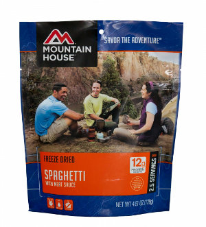 Test Mountain House Spaghetti Bolognese