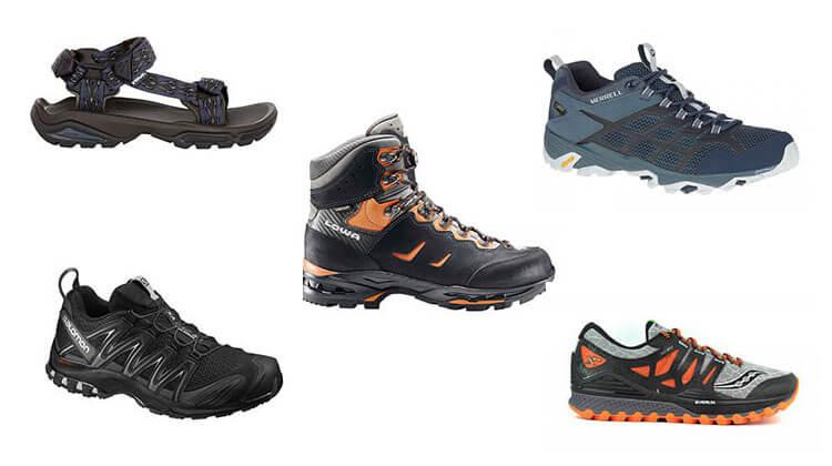chaussure trail pour faire randonnee