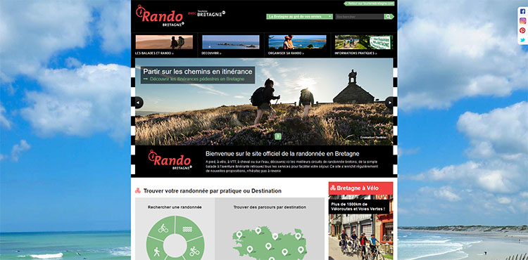 Carte Bretagne Randonnee.Randonnees En Bretagne Topos Itineraires Et Cartes De Randonnees