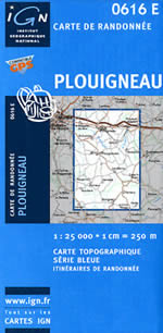 Carte IGN Top 25 n°0616 ET
