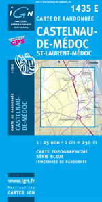 Carte IGN Top 25 n°1435 ET