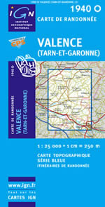 Carte IGN Top 25