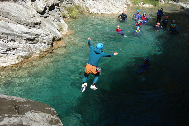Canyoning Barberra
