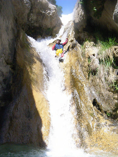 Canyoning Río Verde