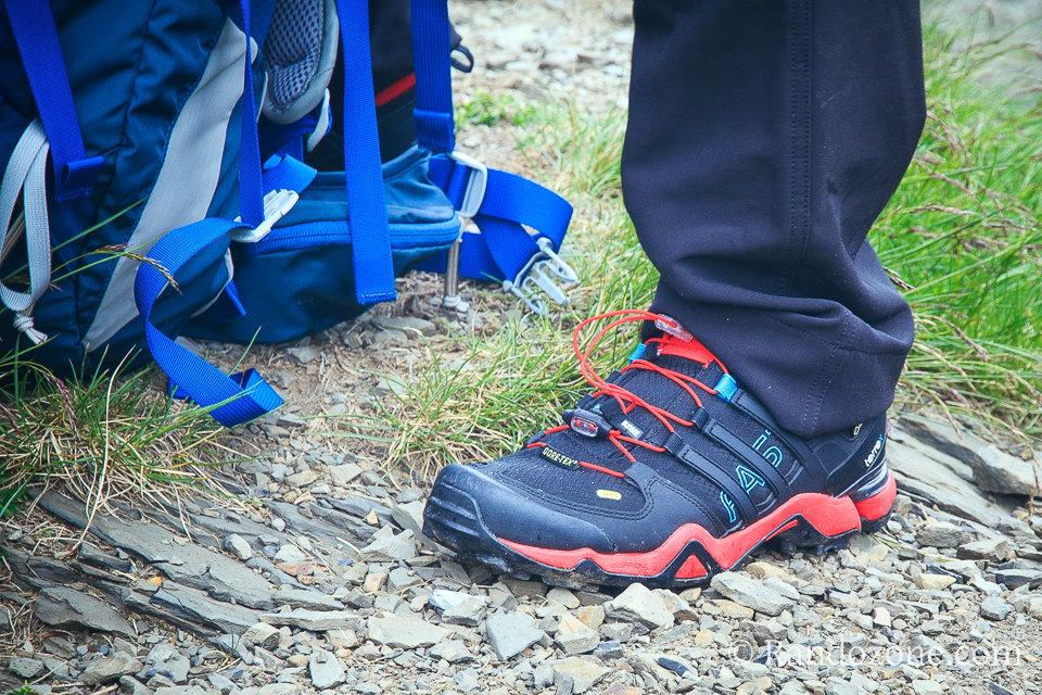Test et avis : Chaussures de trail Adidas Terrex FastR GTX