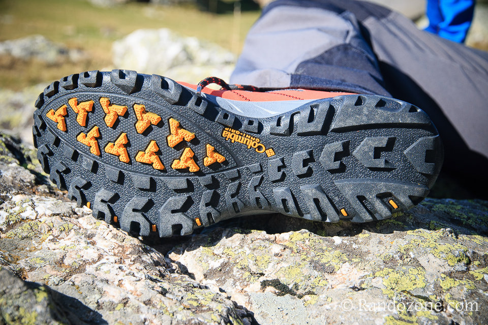Semelle des chaussures Columbia Peakfreak Excursion Xcel Outdry