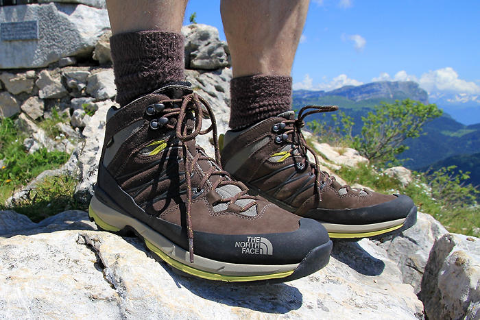 Test des chaussures de randonnée The North Face® Men's Wreck Mid GTX