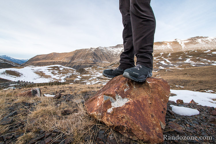 Test des chaussures Mammut Confort Low Mid Surround