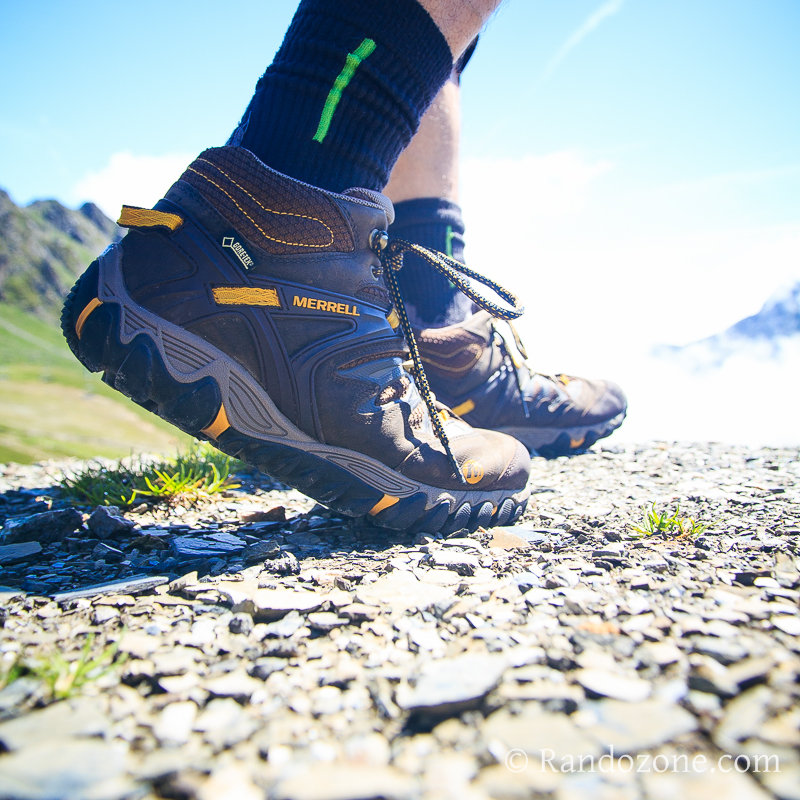 Test des chaussures Merrell Out Blaze Mid Gore-Tex