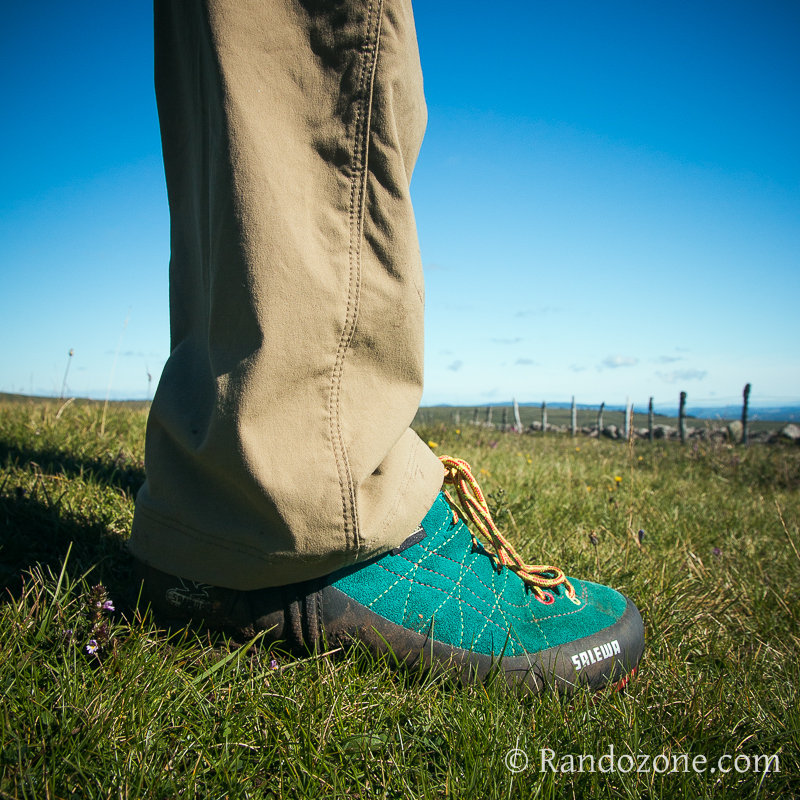 Test des chaussures Salewa Mountain Trainer Gore-Tex