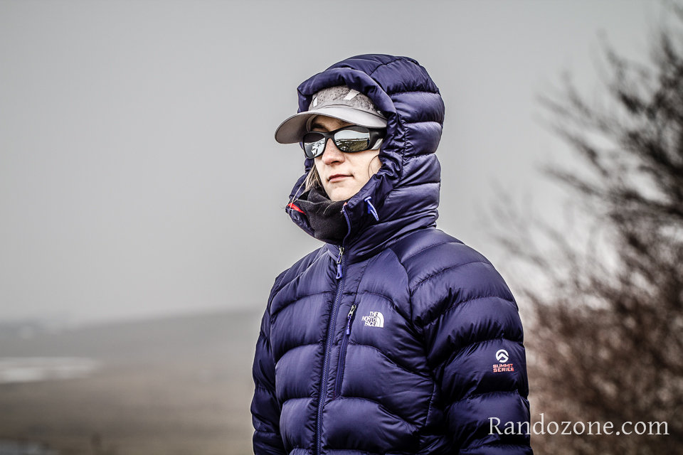 Test de la doudoune The North Face Hooded Elysium Jacket pour femme