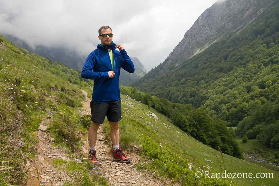Test du sweat Arc'Teryx Konseal Hoody