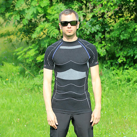 Test du tee-shirt Cimalp Seamless Strategic Light