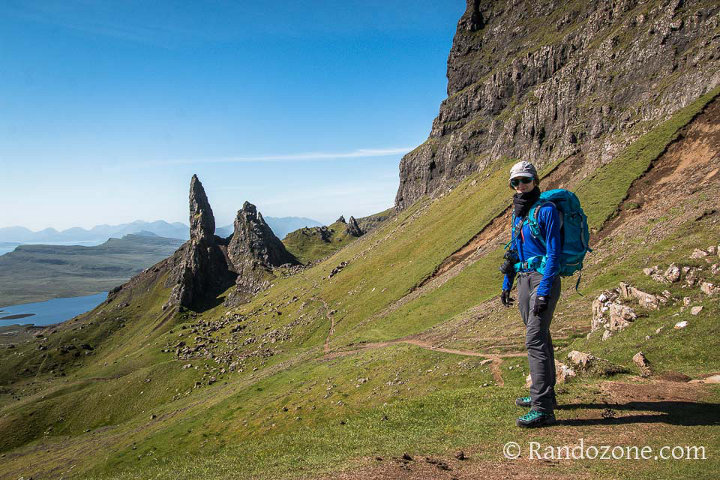 Test du tee-shirt Mountain Hardwear Butterlicious Long Sleeve 1/2 Zip en Ecosse