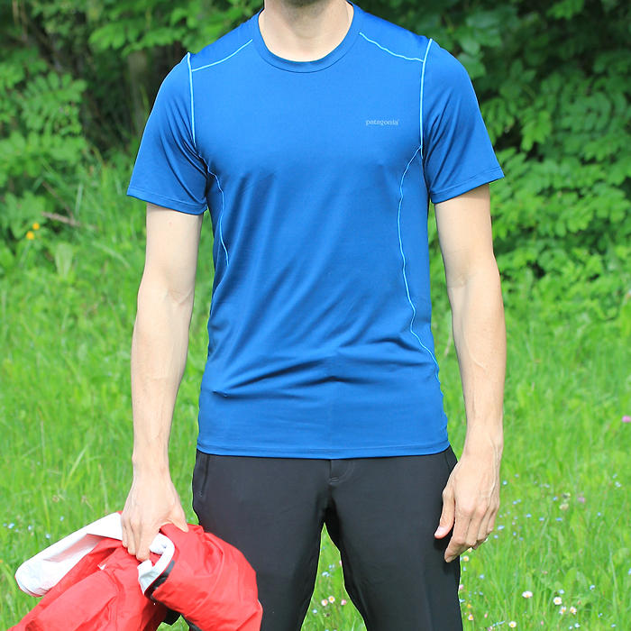 Test du tee-shirt Patagonia Capilene 1 Stretch