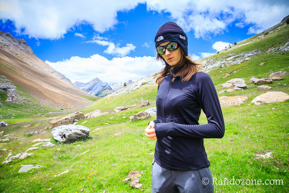 Test du tee-shirt Patagonia Capilene 4 Expédition Zip Neck