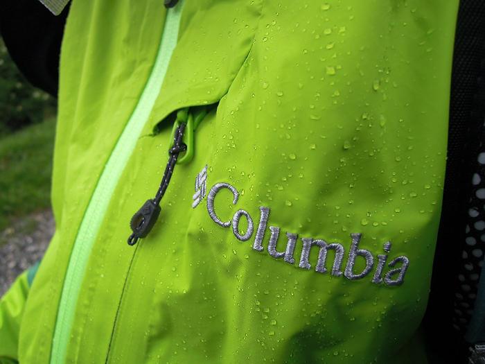 Test de la veste Columbia Shell Tech Attack II
