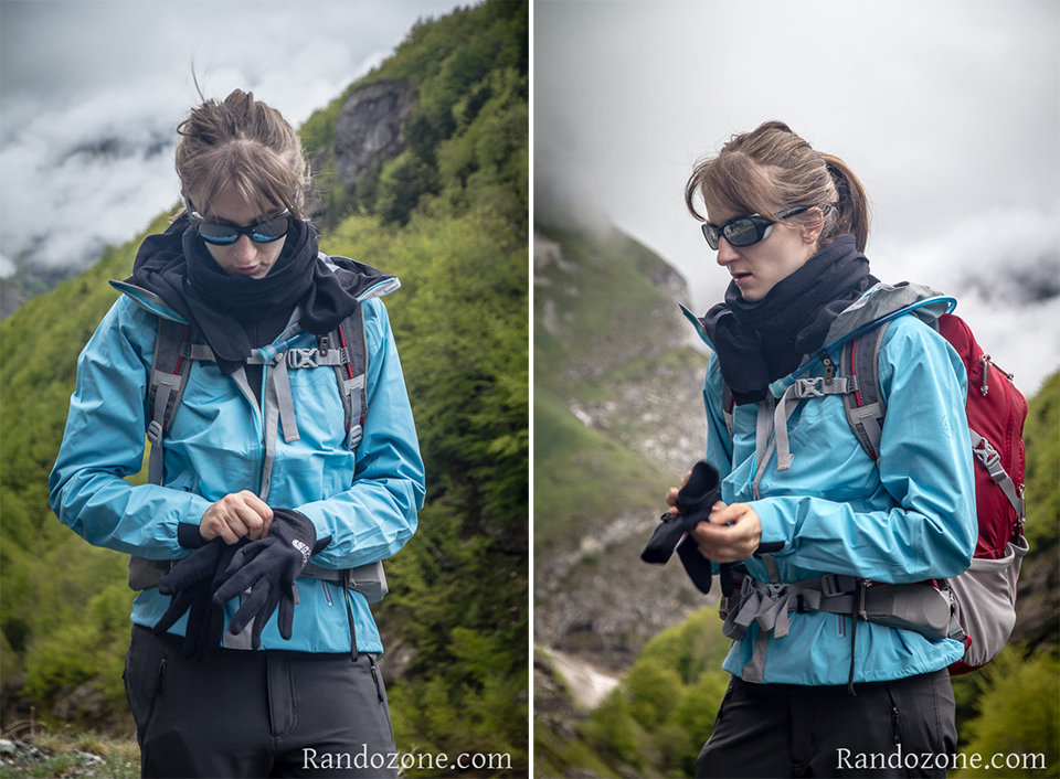 Test de la veste La Sportiva Storm Fighter Jacket Gtx W