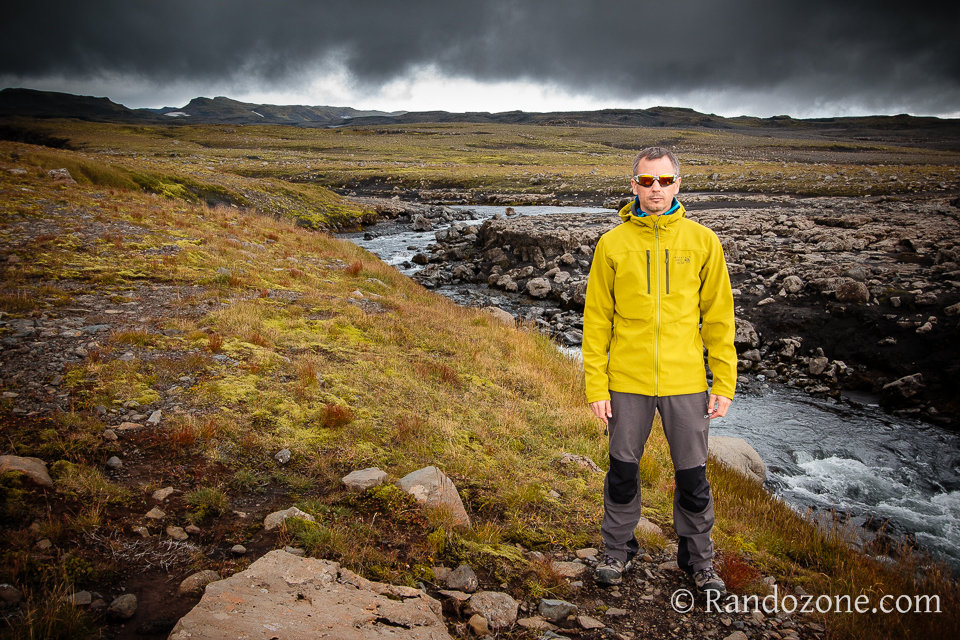 Test de la veste Mountain Hardwear Hueco Jacket