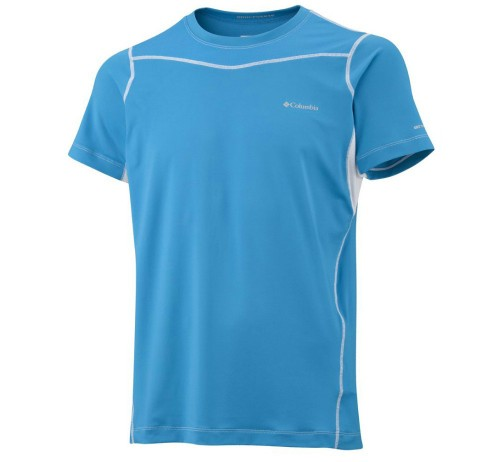 Haut à manches courtes Columbia Baselayer Lightweight Homme