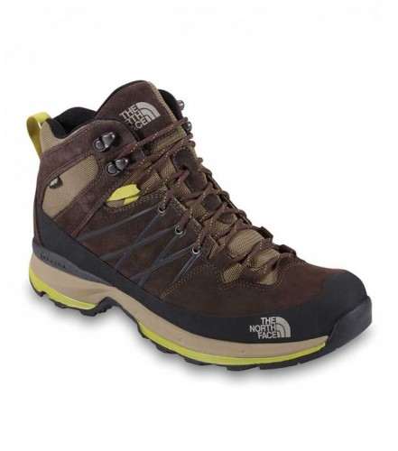 The North Face Wreck Mid GTX jaunes