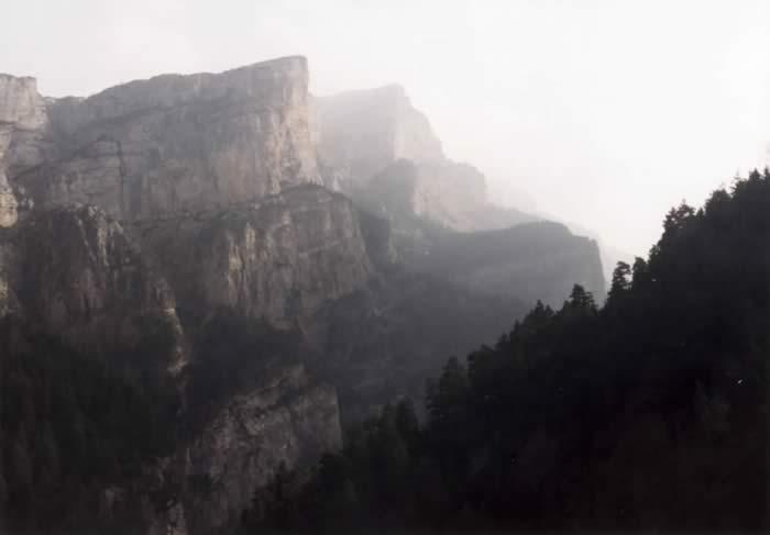 An cœur du Canyon de Niscle