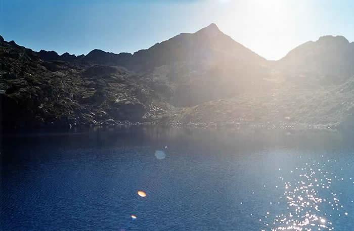 Lac au soleil