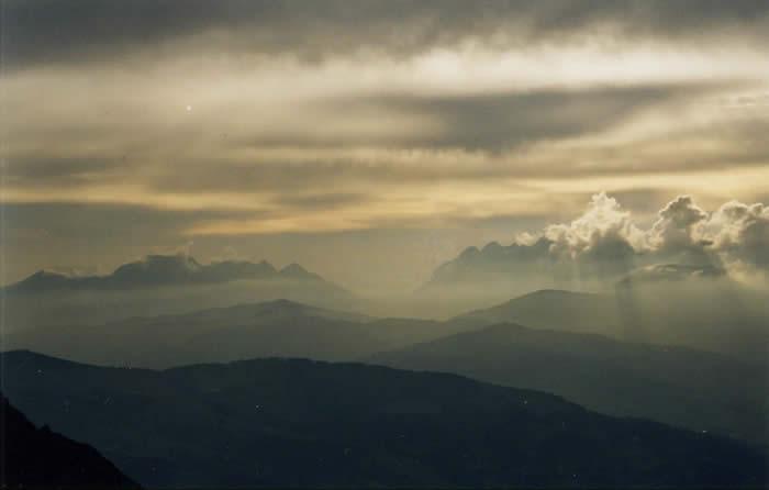 Bivouac au Nid d'Aigle avant de monter au Mont Blanc
