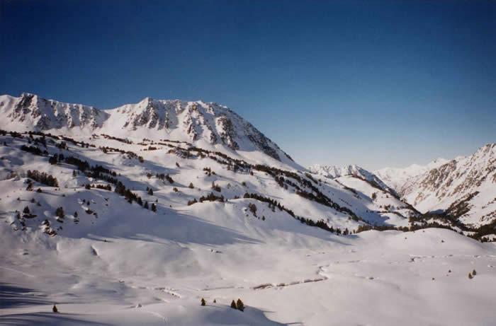 Vallon d'Aygues Cluses en ski de rando