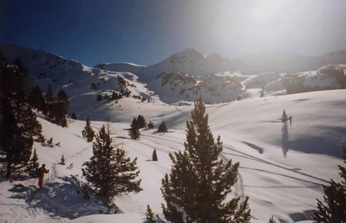 Ski de randonnée près de Barèges