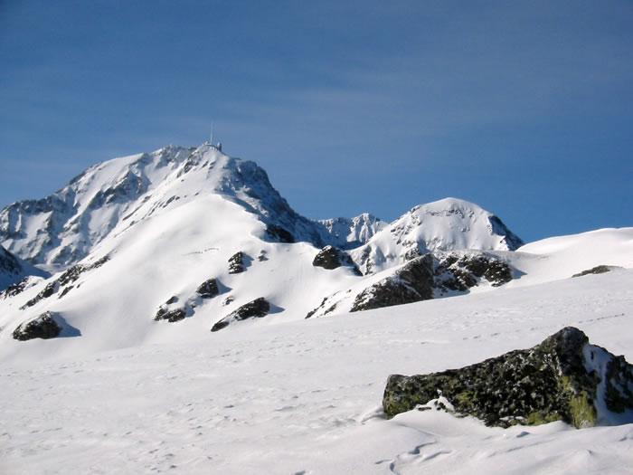 Pic du Midi depuis le Liset de Hount Blanque