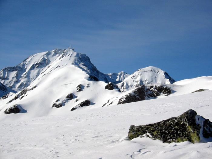 Pic du Midi de Bigorre depuis le Liset de Hount Blanque