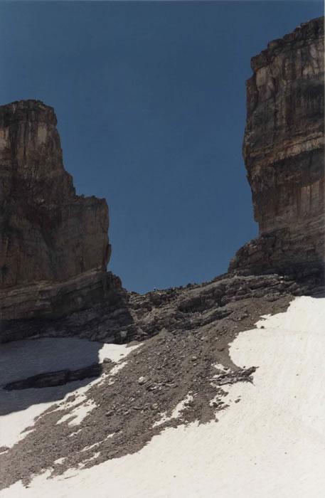Brèche de Roland et son glacier