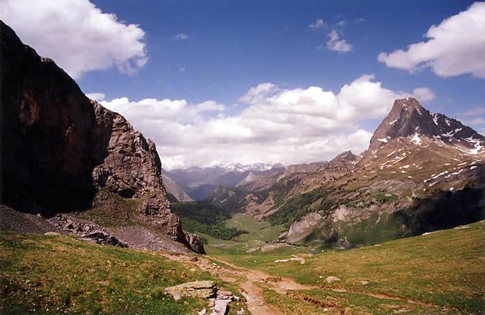 Pic du Midi d'Ossau depuis le col
