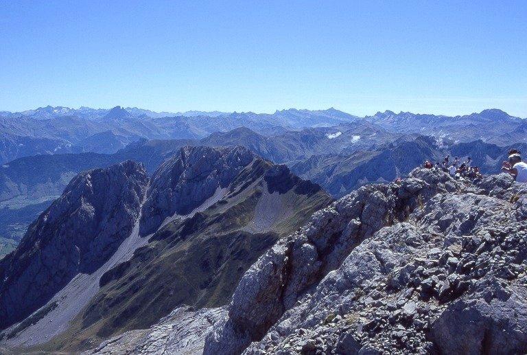 Depuis le sommet du Pic d'Anie