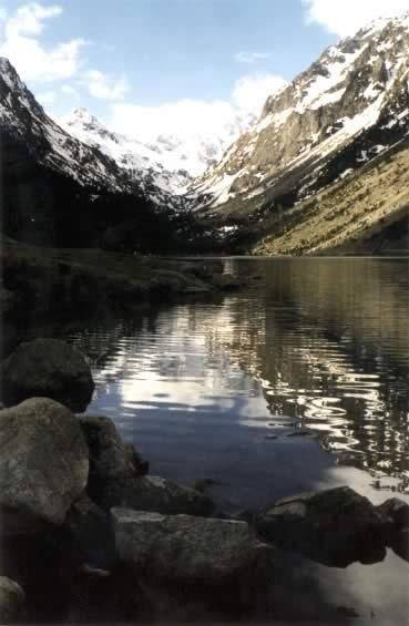 Lac de Gaube Eté 2001
