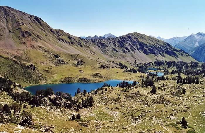 Lacs supérieur de Bastan