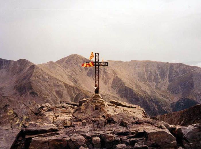 Le sommet du Canigou...