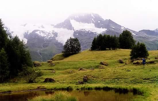 Mont Pourri et ses glaciers