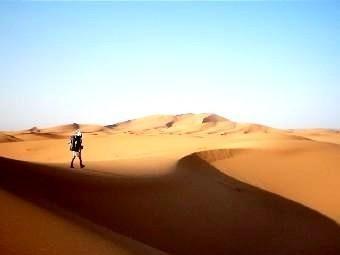 Désert de Merzouga au Maroc